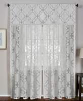 "Elrene Montego 52"" x 95"" Sheer Burnout Window Panel"