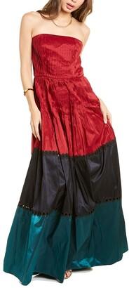 Sachin + Babi Delhi Silk Gown
