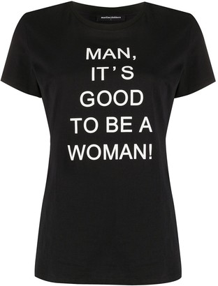 Marlies Dekkers 'man, it's good to be a woman' T-shirt