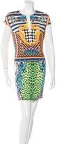 Just Cavalli Abstact Printed Mini Dress