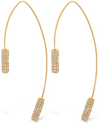 Joanna Laura Constantine Tribal Statement Hoop Earrings