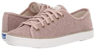 Keds Kickstart Wool/Faux Shearling CX (Tan Wool/Faux Shearling) Women's Shoes