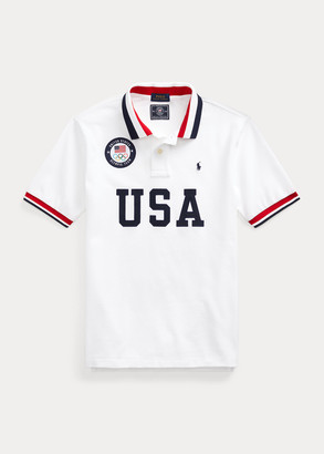 Ralph Lauren Team USA One-Year-Out Polo Shirt