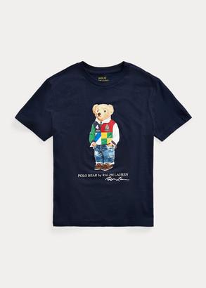 Ralph Lauren Polo Bear Cotton Jersey Tee