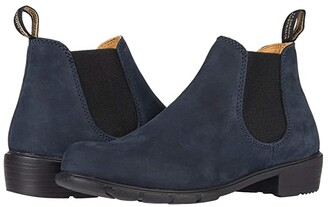 Blundstone Ankle Boot 1975 (Navy Nubuck) Women's Boots