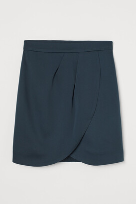 H&M Wrap-front Skirt