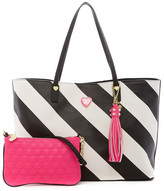 Betsey Johnson All That Jazz 2-in-1 Tote