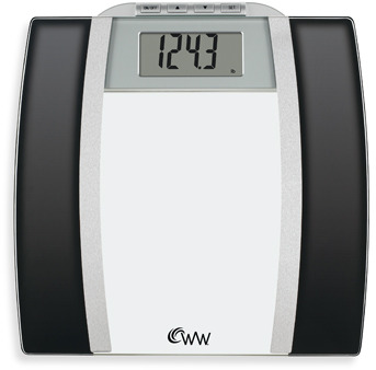 Weight Watchers Conair Glass Body Analysis Scale