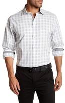 Bugatchi Long Sleeve Classic Fit Woven Shirt