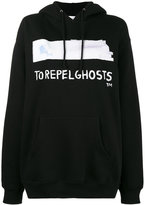 Jean-Michel Basquiat X Browns Rome Pays Off To Repel Ghosts print hoodie