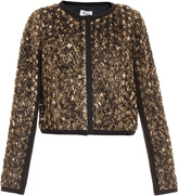 ALICE by Temperley Donna Gold Rose Bomber