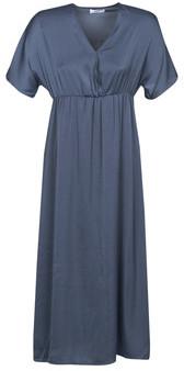 Betty London MOUDA women's Long Dress in Blue