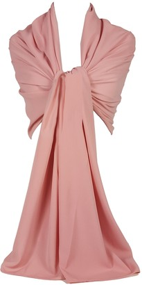 GFM Georgette Evening Scarf Shawl Wrap for Wedding Bridesmaids Hijab (DRV)(HBGS-01-CHBH)