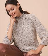 LOFT Lou & Grey Flecked Sweater