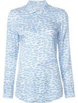 Julien David Printed Shirt - Blue - Size M