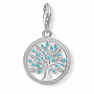 Thomas Sabo Women's Charm Pendant Tree of Love 925 Sterling Silver 1469-041-17