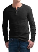 Lucky Brand Lived-In Thermal Henley Shirt - Long Sleeve (For Men)
