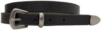 Loop 20mm Plain Mulberry Leather Belt