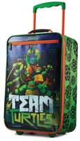 "American Tourister Ninja Turtles 18"" Softside Rolling Suitcase By"