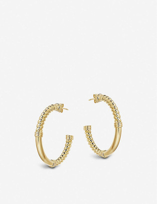 Missoma 18ct Yellow Gold-Plated Vermeil Hoop Earrings