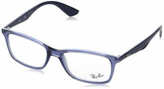 Ray-Ban RX7047 Rectangular Eyeglass Frames Non Polarized Prescription Eyewear