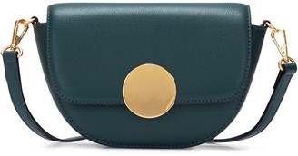 Oryany Lottie Saddle Crossbody - Deep Green