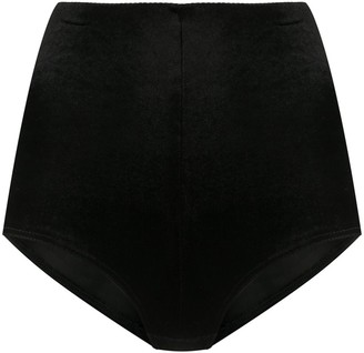 Alchemy High-Waisted Textured Shorts