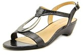 Karen Scott Carmeyy Women Open Toe Synthetic Wedge Sandal.