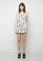 Band Of Outsiders Printed Silk Romper