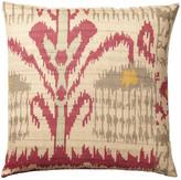 OKA Madura Silk Cushion Cover, Large - Red