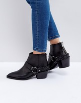 AllSaints Marley Buckle Boot
