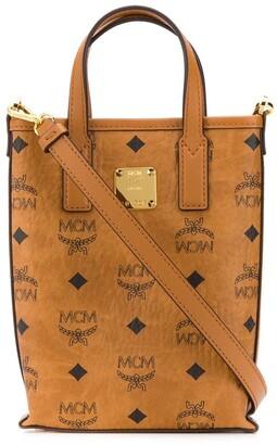 MCM Essential Visetos-print tote bag
