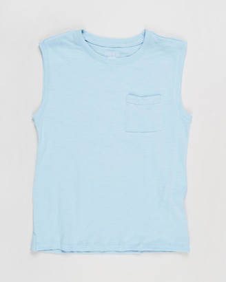 Cotton On Free Boys Textured Tank - Teens