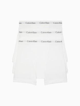 Calvin Klein Cotton Classic Fit 3 Pack Boxer Brief