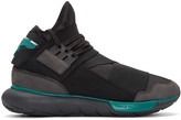 Y-3 Black Qasa High Sneakers