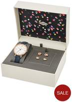 Fossil Jacqueline Watch & Earring Ladies Gift Set