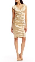 Nicole Miller Beckett Techno Metal Dress