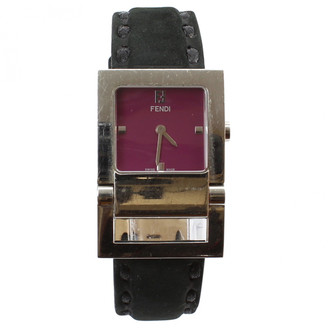 Fendi Purple Steel Watches