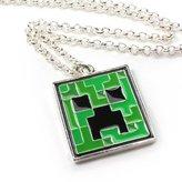 J!NX JINX JNX-10003-C Minecraft Creeper Pendant Necklace