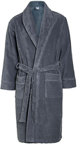 M&s Collection Pure Egyptian Cotton Unisex Dressing Gown