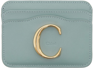 Chloé Blue C Card Holder