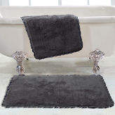 Asstd National Brand Chesapeake Merchandising Verona Pleat Trim 2-pc. Bath Rug Set
