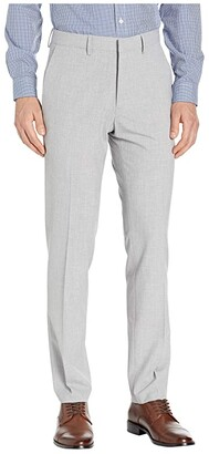 Kenneth Cole Reaction Solid Gab Four-Way Stretch Slim Fit Dress Pants (Bright Blue) Men's Casual Pants