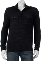 Apt. 9 Men's Modern-Fit Mockneck Quarter-Zip Sweater