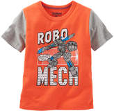 Osh Kosh Boys 4-8 Short Sleeve Comic Book Graphic Tee