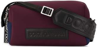 Dolce & Gabbana embossed logo shoulder bag