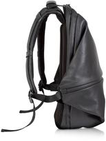 Côte&Ciel Meuse Black Coated Canvas Backpack