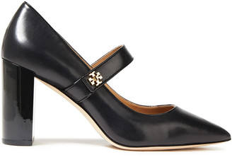 Tory Burch Kira 85 Leather Mary Jane Pumps