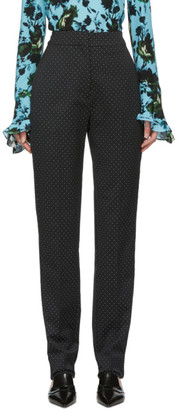 Erdem Black Dots Emanuelle Trousers