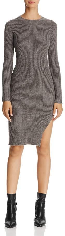 Freeway Side-Slit Sweater Dress